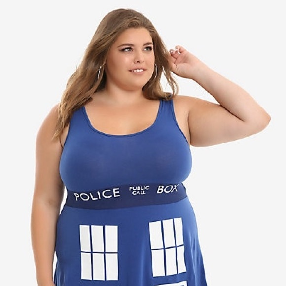 Her Universe Dresses & Skirts - Her Universe Doctor Who Tardis Dress